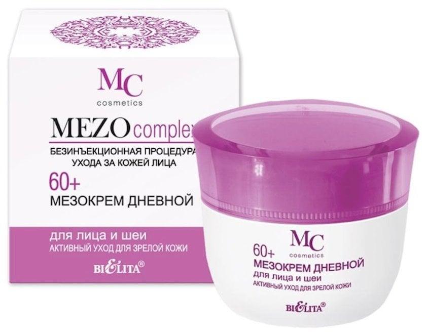 Üz və boyun kremi Bielita Mezocomplex Gündüz istifadə  50 ml