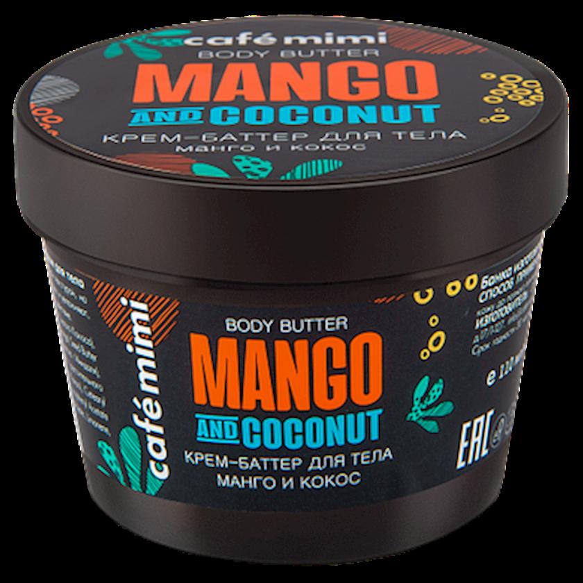 Krem-batter bədən üçün Café Mimi Manqo və kokos 110 ml