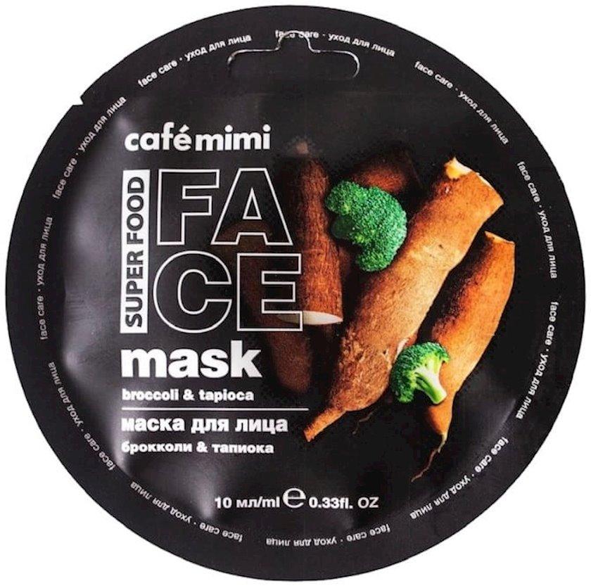 Maska üz üçün Café Mimi Brokoli & Tapioka 10 ml