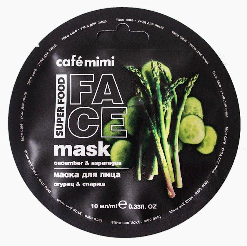 Maska üz üçün Café Mimi Xıyar & Qulançar 10 ml