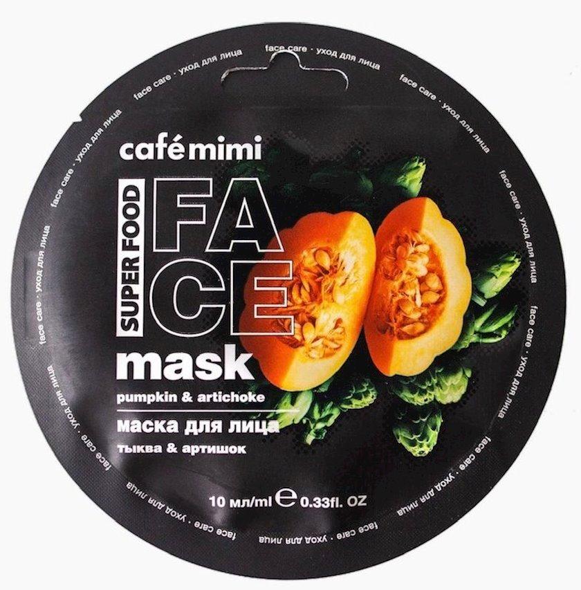 Maska üz üçün Café Mimi Balqabaq & Ənginar 10 ml