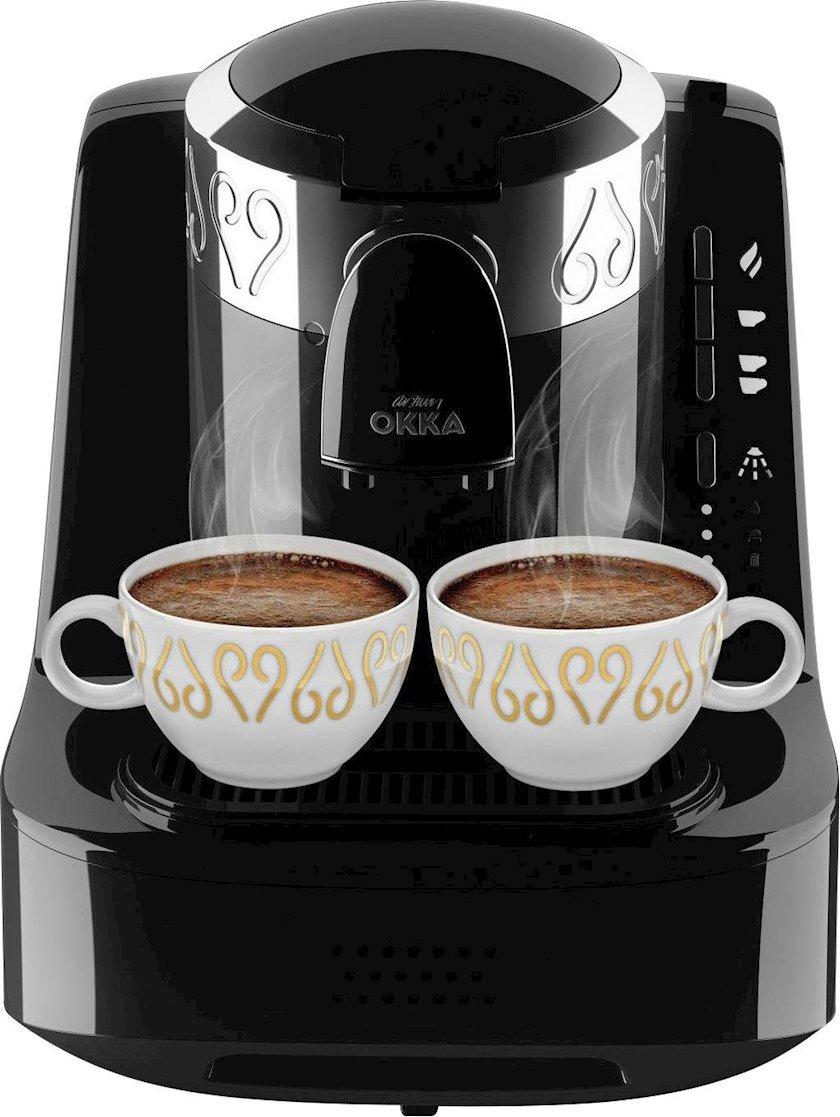 Qəhvəbişirici Arzum Okka OK002 Turkish Coffee  Black Chrome