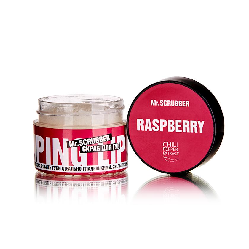 Dodaq üçün skrab Mr. Scrubber Wow Lips Raspberry, 35 ml