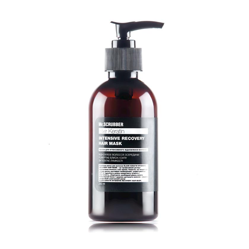 Saç maskası Mr.Scrubber Elixir Keratin Intensive Recovery Hair Mask, 250 ml