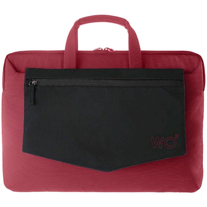 Noutbuk çantası TUCANO Work Out 3 Super Slim Red