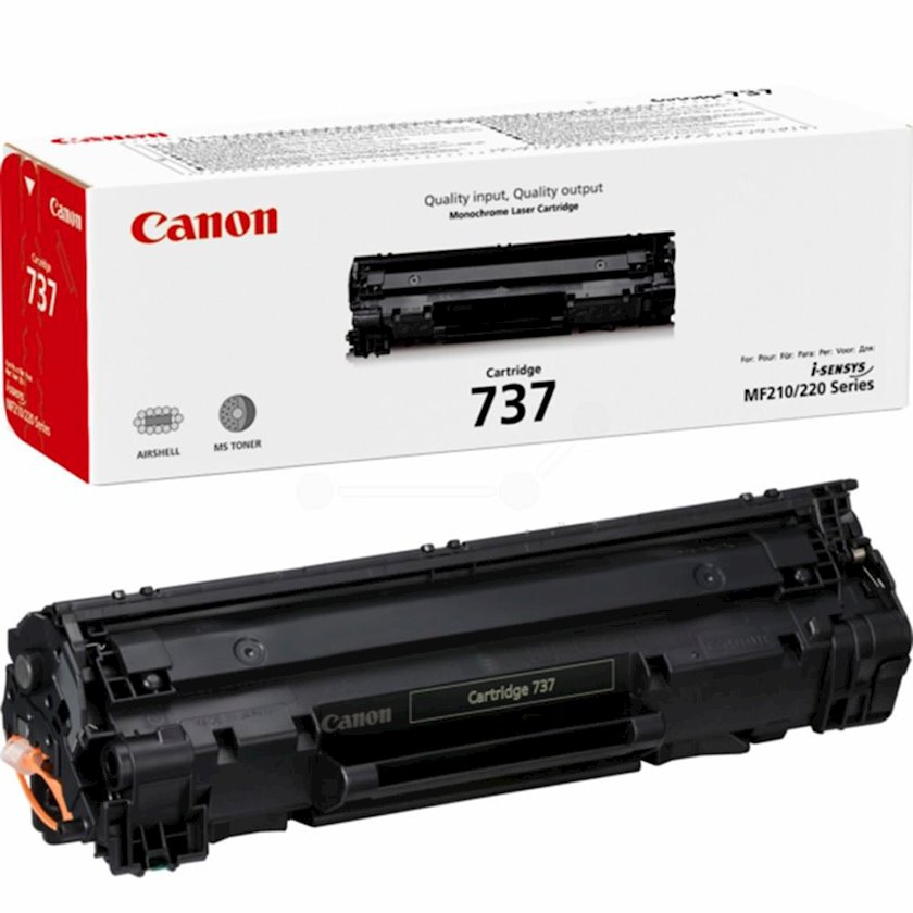 Toner-kartric Canon 737 Black