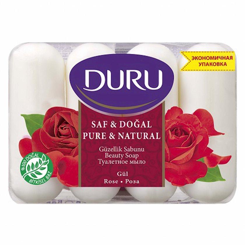 Sabun Duru Pure and Natural Qızılgül 4 x 85 q