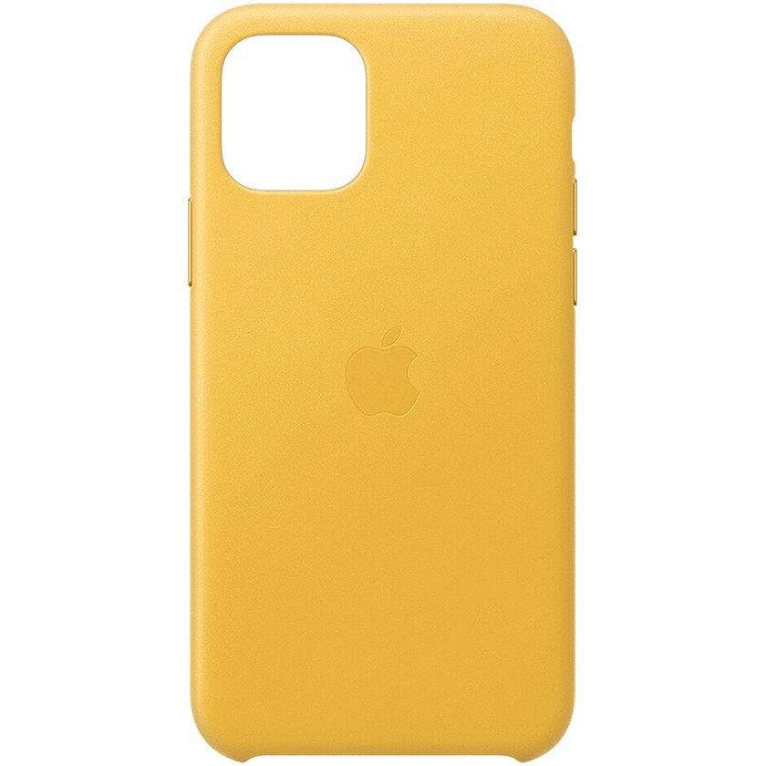 Çexol Leather Case Apple iPhone 11 Pro üçün  Meyer Lemon