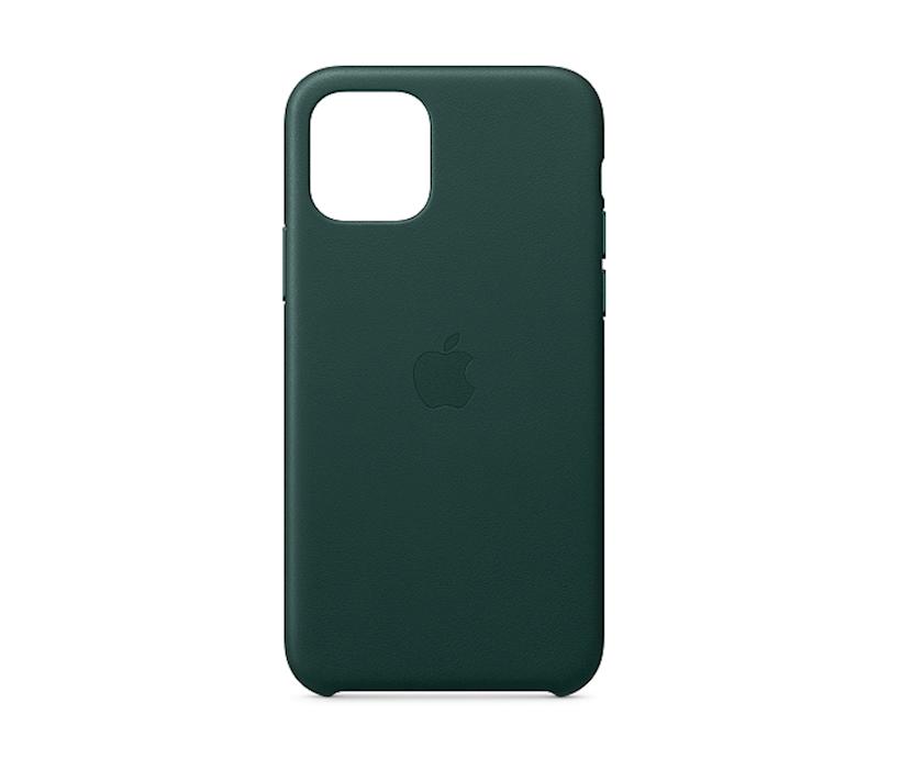Çexol Leather Case Apple iPhone 11 Pro üçün  Forest Green