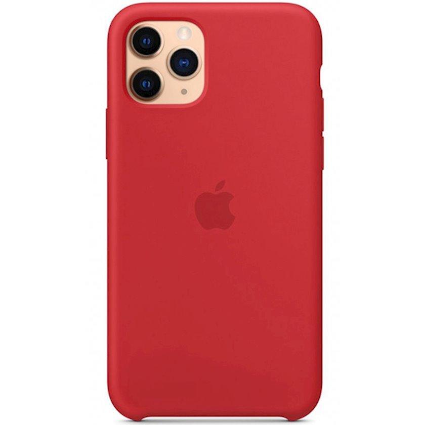 Çexol Silicone Case Apple iPhone 11 Pro üçün  Red