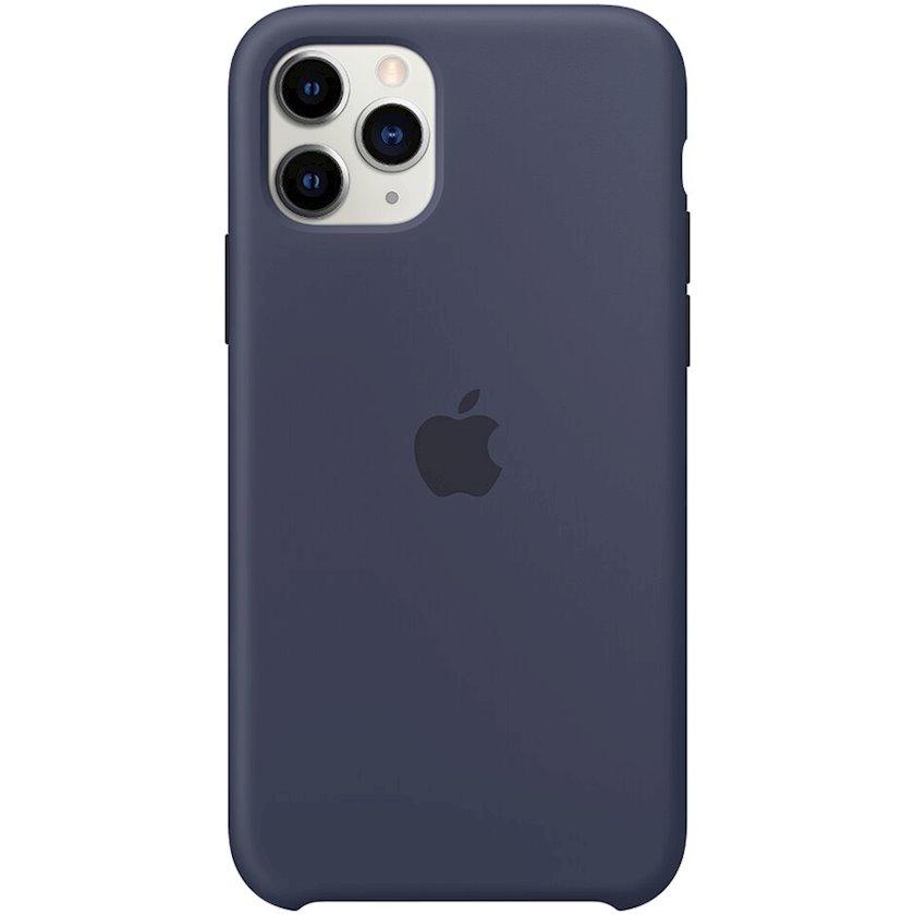 Çexol Silicone Case Apple iPhone 11 Pro üçün  Midnight Blue