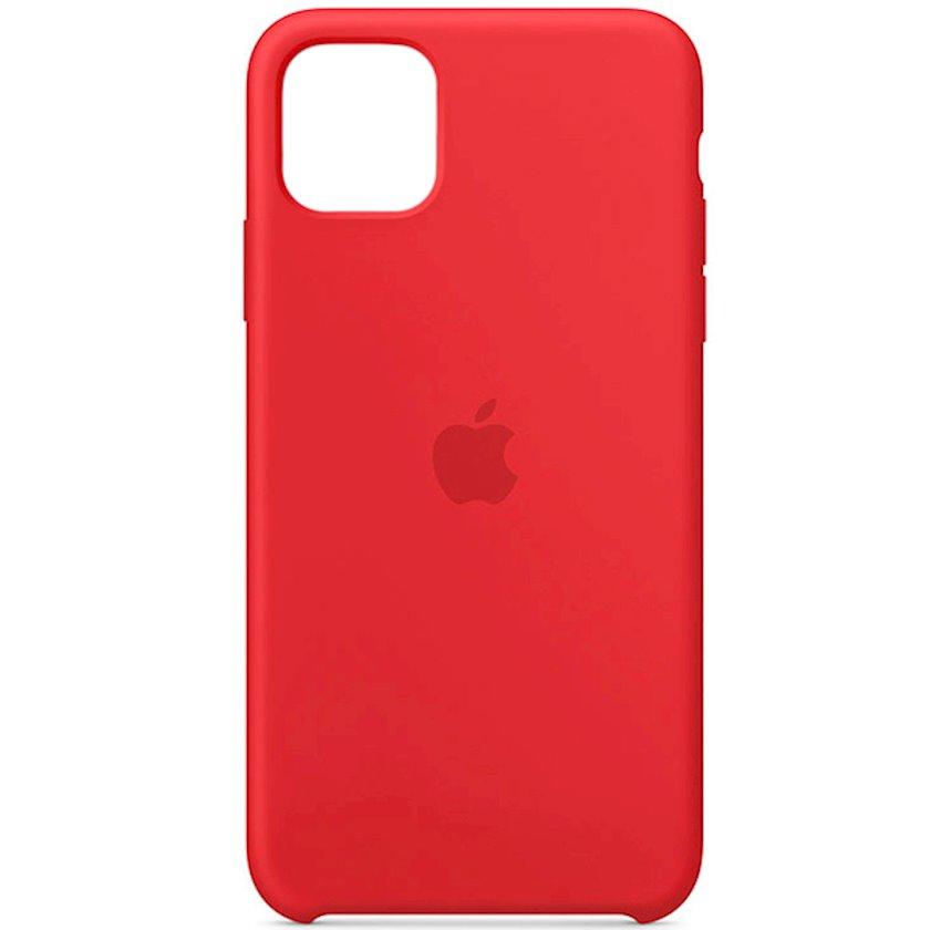 Çexol Silicone Case Apple iPhone 11 Pro Max üçün Red