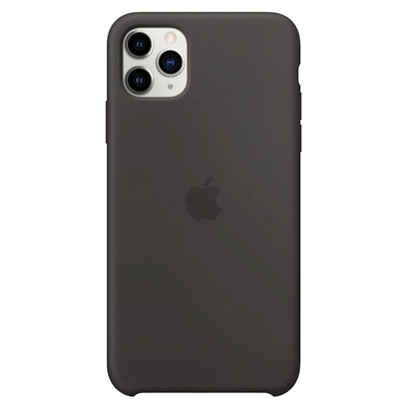Çexol Silicone Case Apple iPhone 11 Pro Max üçün Black