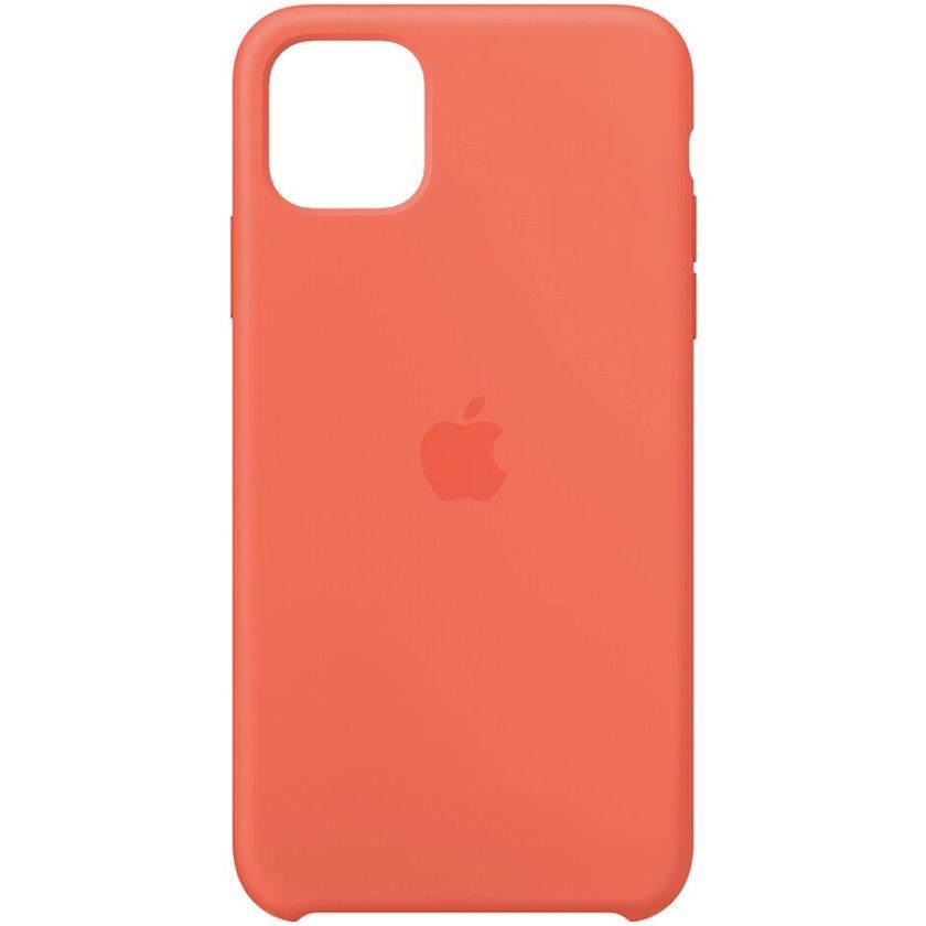 Çexol Silicone Case Apple iPhone 11 Pro Max üçün Clementine (Orange)