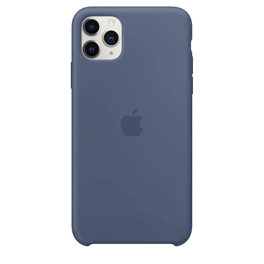 Çexol Silicone Case Apple iPhone 11 Pro Max üçün Alaskan Blue