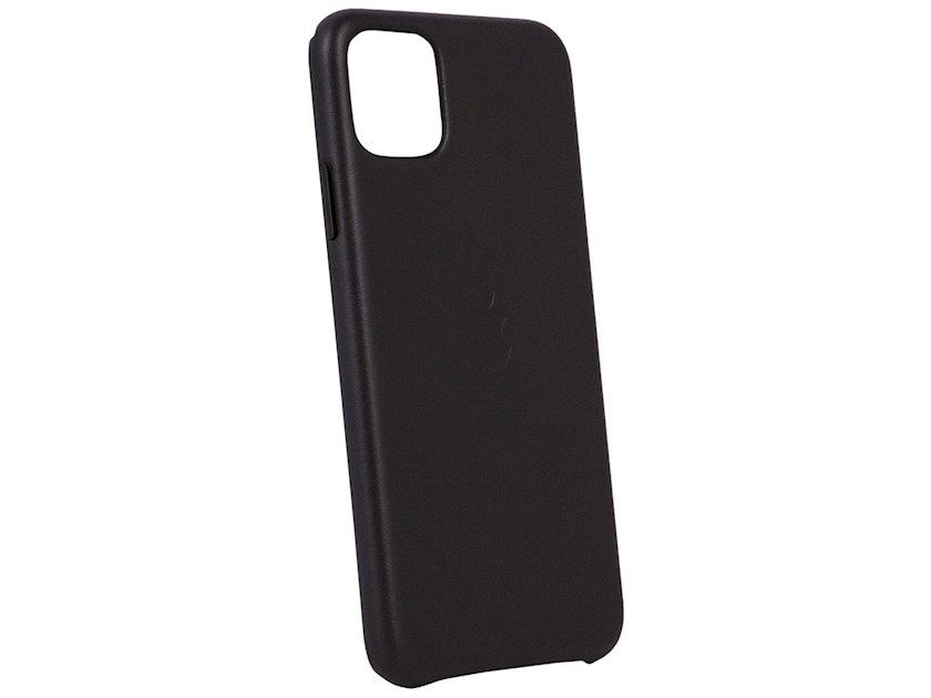 Çexol Apple iPhone 11 Pro Max üçün dəri Black