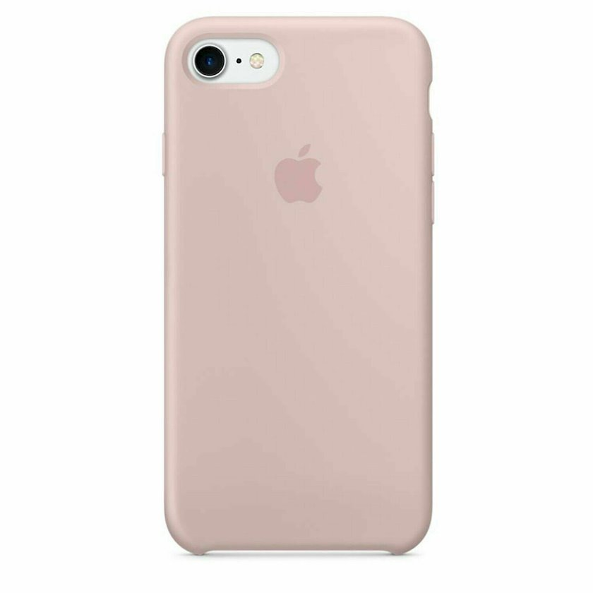Çexol Apple iPhone 8/7 Silicone Case Pink Sand
