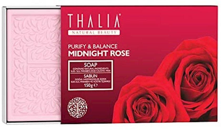 Təmizləyən və balanslaşdıran natural sabun Thalia Midnight Rose