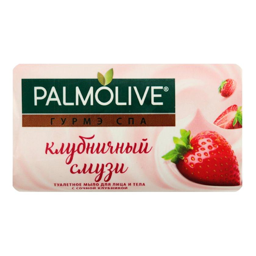 Üz və bədən üçün tualet sabunu Palmolive çiyələk ekstraktı ilə