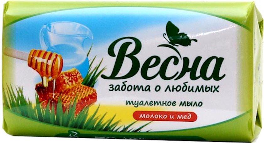 """Sabun """"Весна"""" Assorti süd və bal 90 q"""