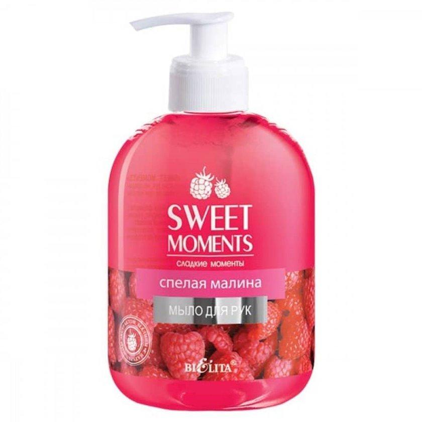 Əllər üçün sabun Belita Sweet Moments Yetişmiş Malina 500 ml