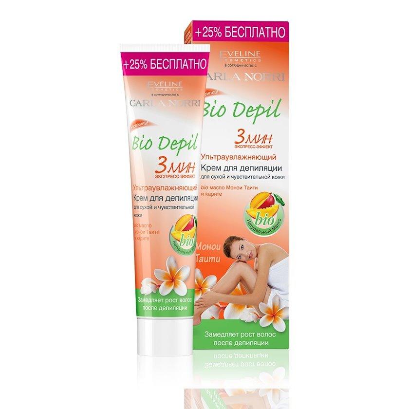 Depilyasiya kremi Eveline Cosmetics Bio Depil 125 ml