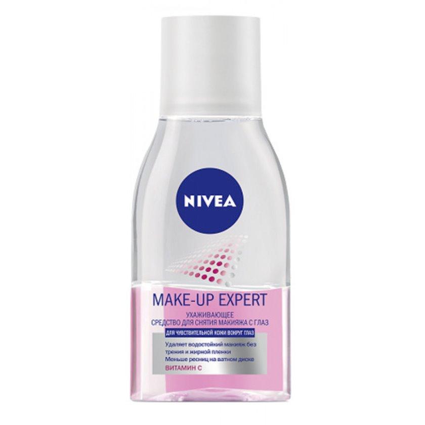 Makiyaj təmizləmə vasitəsi göz üçün Nivea Make up Expert  həssas gözətrafı dəri üçün 125 ml