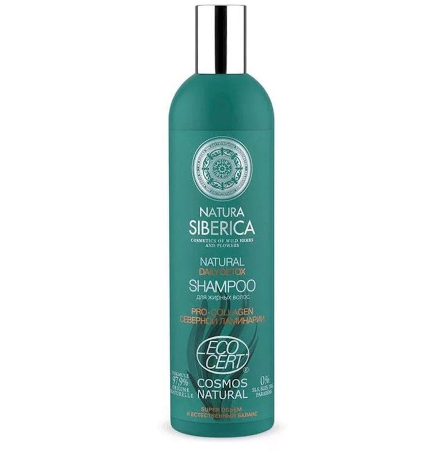 Şampun yağlı saçlar üçün həcm və balans Natura Siberica 400 ml