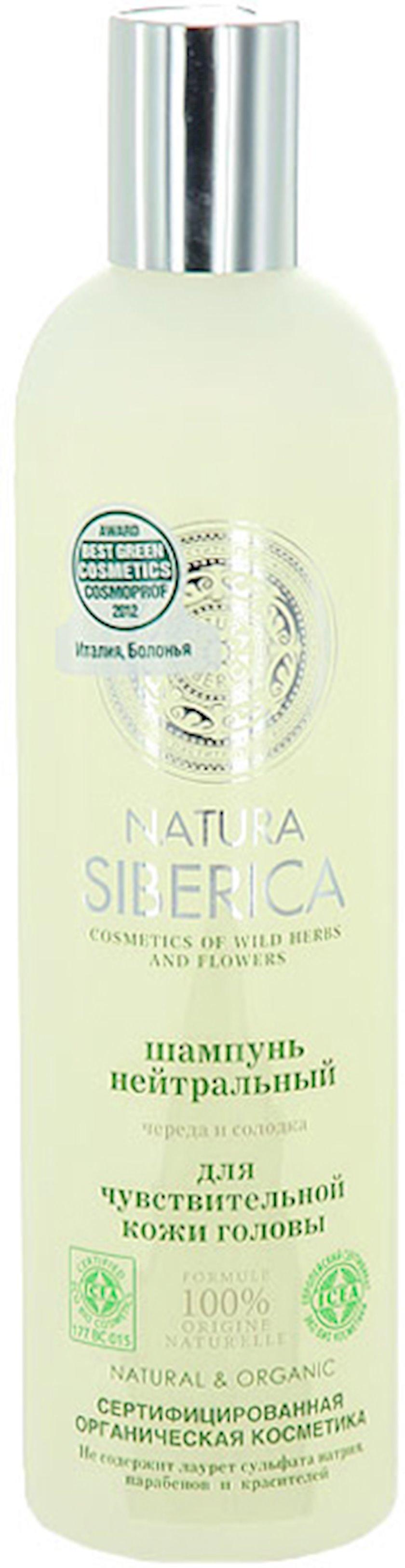 Şampun həssas saç dərisi üçün neytral Natura Siberica 400 ml