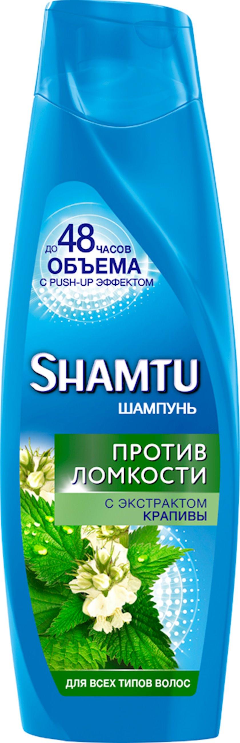 Şampun gicitkən ekstraktı ilə kövrəkliyə qarşı Shamtu 360 ml