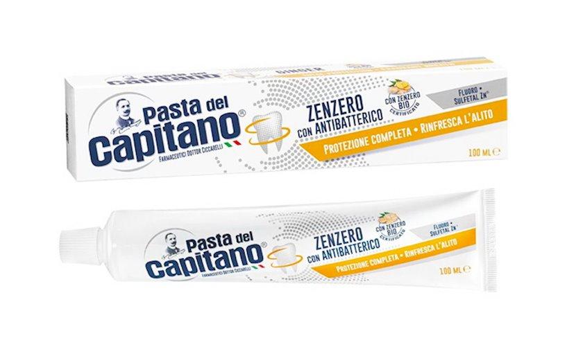 Diş pastası Pasta Del Capitano Zenzero con Antibatterico