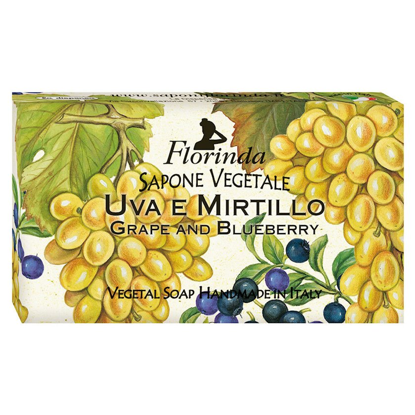 Bərk sabun Florinda Fruit's Passion Grape and Blueberry 100 q