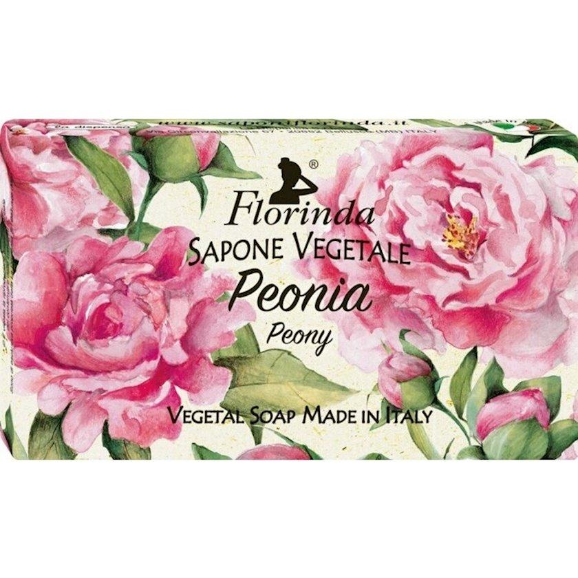 Sabun Florinda Peonia Peony Vegetal Soap 200 q
