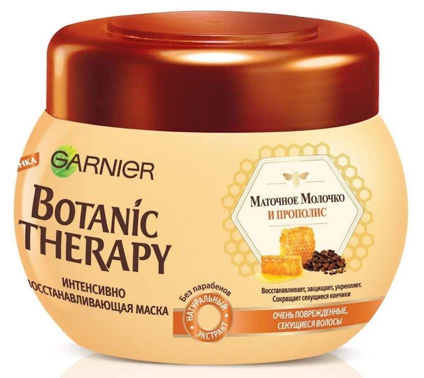 Maska Garnier Botanic Therapy Propolis və kral südü çox zədələnmiş və qırılmış uclu saçlar üçün 300 ml
