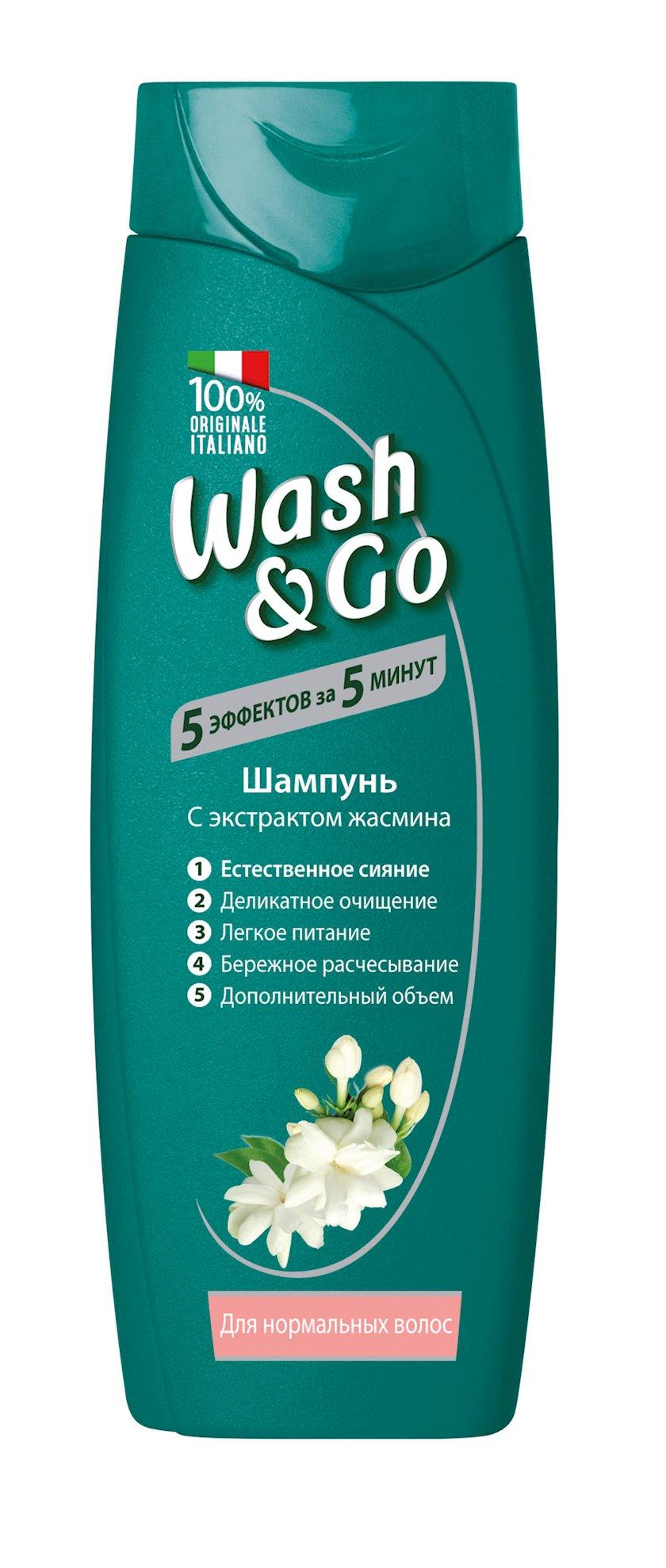 Şampun Wash&Go Jasmine normal saçlar üçün 200 ml
