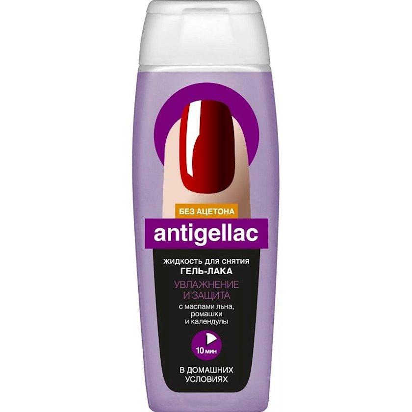 Dırnaq boyasının silinməsi üçün mayə Фитокосметик Antishellac Asetonsuz Kətan Yağı ilə 110 ml