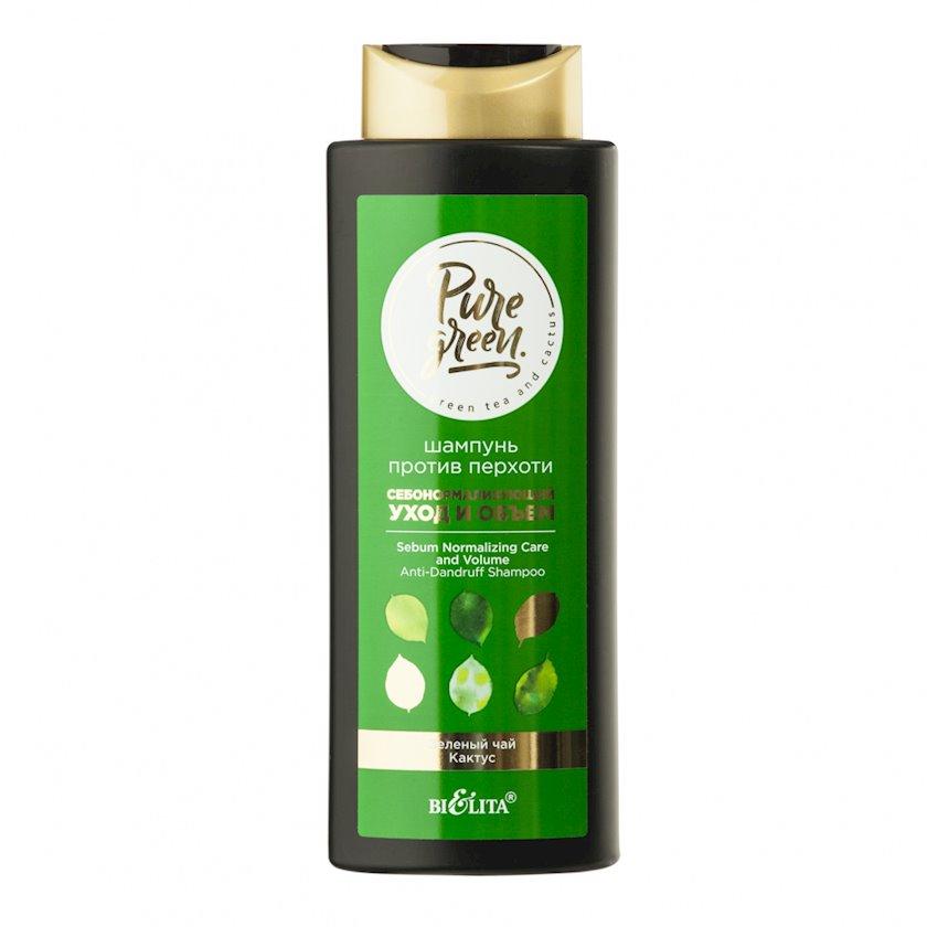 Şampun kəpəyə qarşı Belita Pure Green Sebo-normallaşdıran qulluq və həcm 400 ml