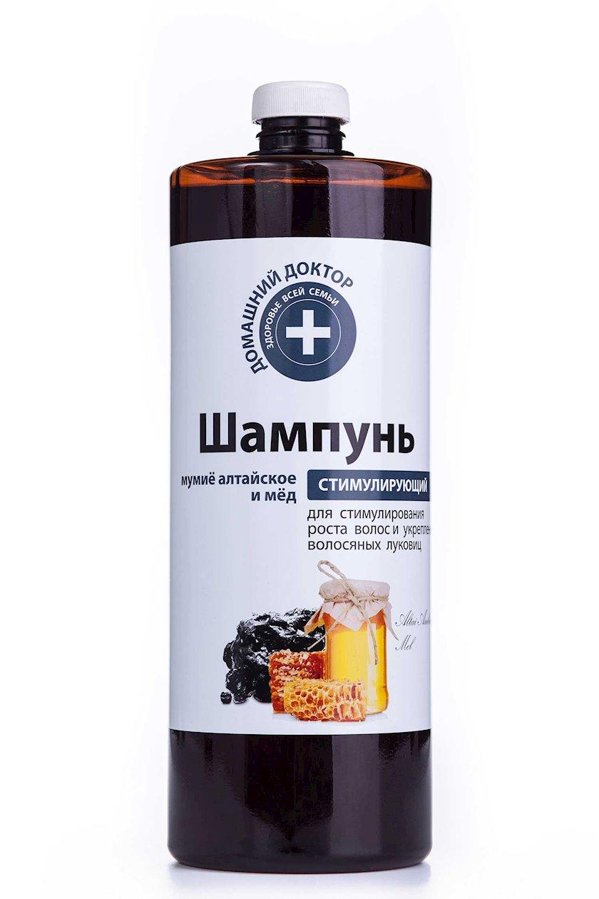 """Şampun """"Домашний доктор"""" Altay mumu və bal, 1000 ml"""