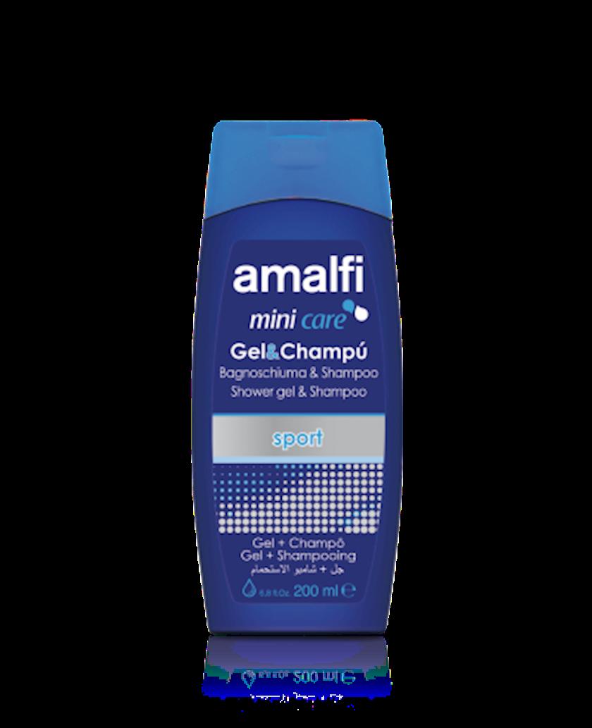 Duş geli və şampun Amalfi Sport Mini 200 ml