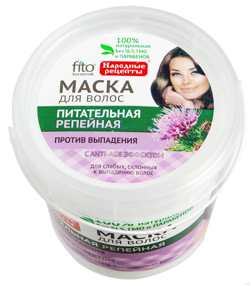 Saç maskası Фитокосметик Народные рецепты Qidalandırıcı ayıpəncəsi ilə 155 ml