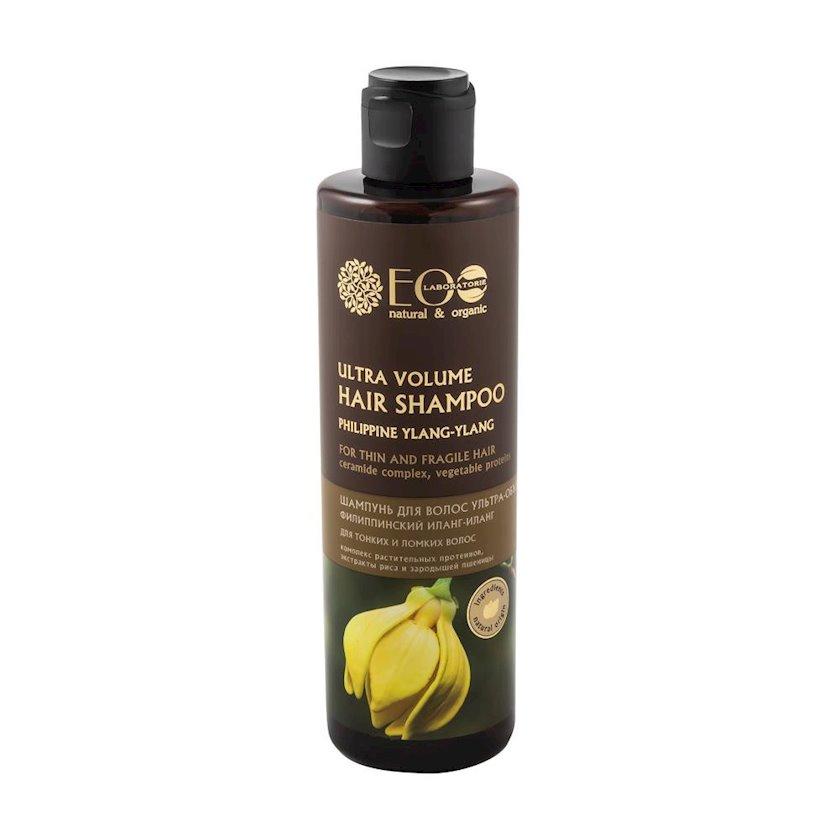 Şampun saç üçün EO Laboratorie Ultra-həcm nazik və qırılan saçlar üçün 250 ml