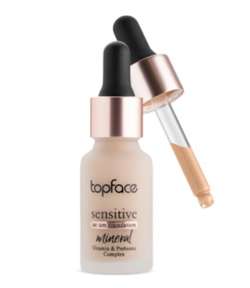 Tonal krem Topface Serum Tonal Sensitive Vegan PT565-003 15 ml