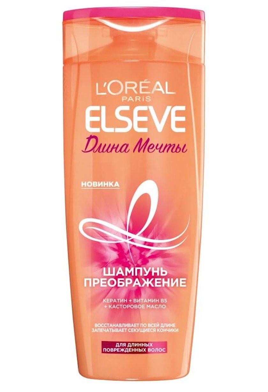 Şampun-dəyişiklik L'Oreal Paris Elseve Arzu olunan uzunluq uzun və zədələnmiş saçlar üçün, 250 ml
