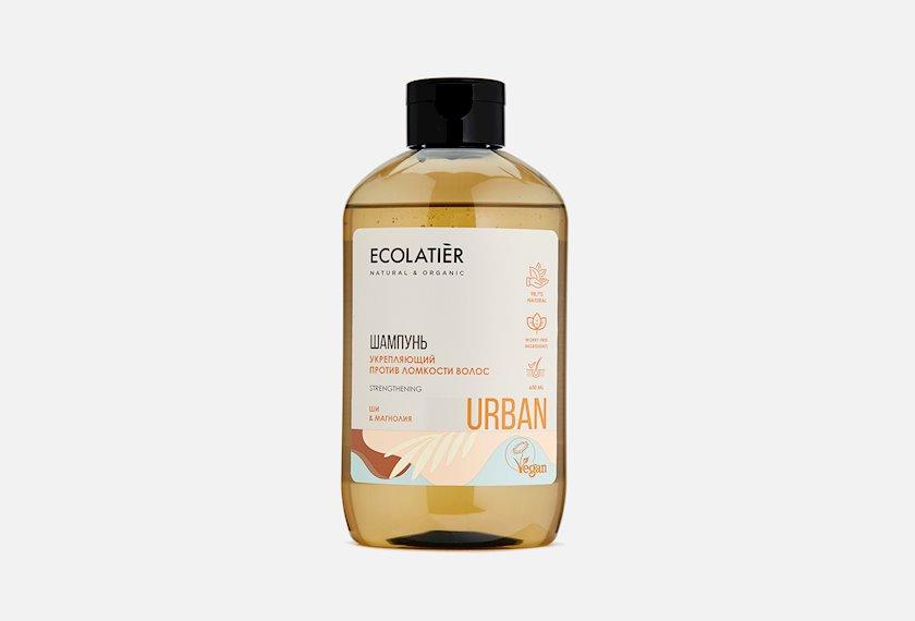 Şampun Ecolatier Gücləndirmə Saç qırılmasına qarşı Şi və maqnoliya 600 ml