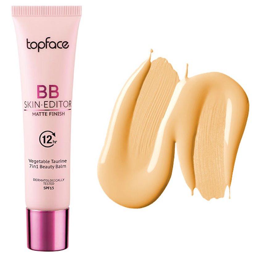 Tonal krem Topface BB Skin Editor Matte Finish SPF15 PT462 007 30 ml