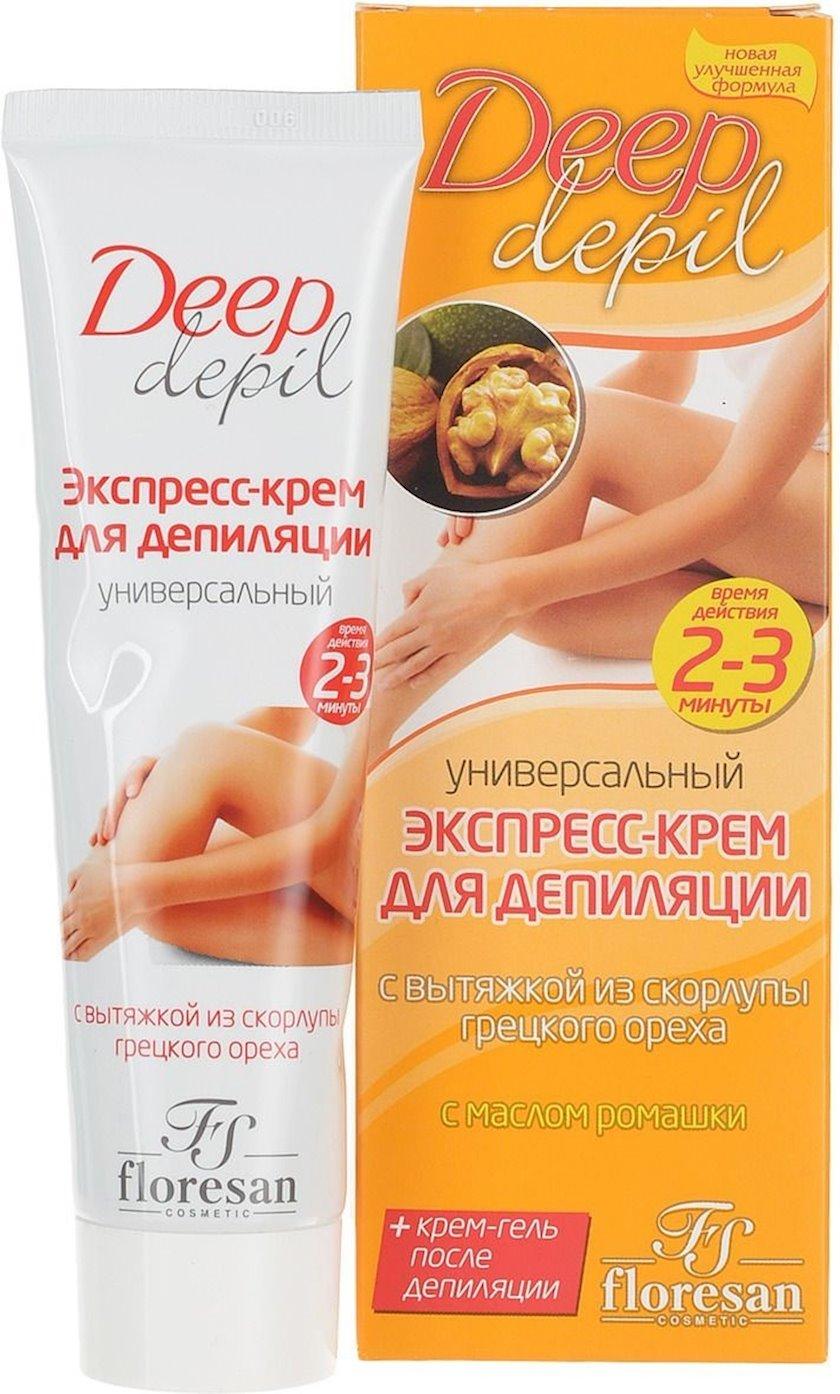 Depilyasiya üçün universal krem Флоресан Deep Depil 100 ml