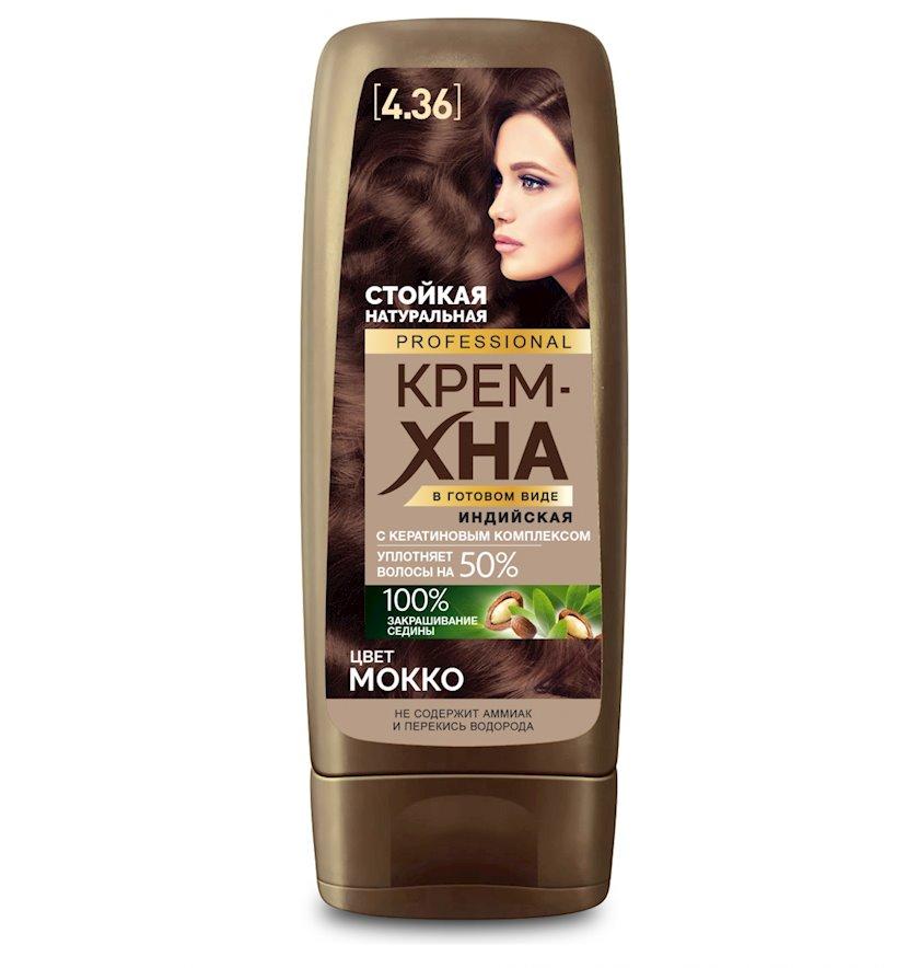 Krem-xına hazır şəkildə Фитокосметик Hind Professional Mokko 140 ml
