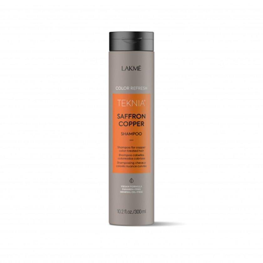 Rəngin yenilənməsi üçün şampun Lakme Teknia Color Refresh Saffron Copper Shampoo 300 ml