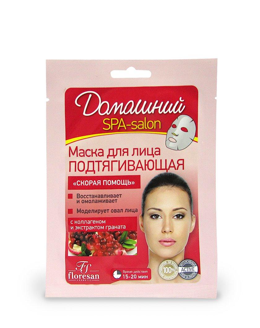 Üz üçün maska Флоресан Домашний Spa-salon Dartıcı 40 ml