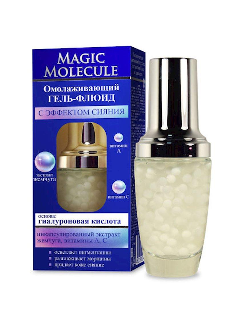 Üz üçün cavanlaşdırıcı gel-fluid Флоресан Magic Molecule Parıltı Effekti ilə 30 ml